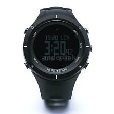 Men's Sports Watch Heart Rate Monitor Weather Altimeter Barometer Compass O4M8