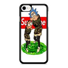rick and monty supreme iPhone 8 Case For Samsung Google iPod LG Phone Cover