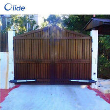 Automatic swing gate opener with access keypad and extra remote control