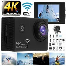 HD 4K 16MP Wifi Sports Action Camera Camcorder Video Recorder Kit Waterproof SH
