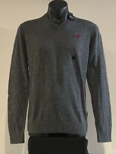 Abercrombie & Fitch Hollister Sweater Men's V-Neck Pullover Sweater S Grey NWT
