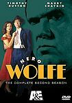 Nero Wolfe - The Complete Second Season NEW DVD 5-Disc Box Set TIMOTHY HUTTON