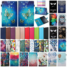 """For Amazon Kindle Fire HD 10 2017 10.1"""" New Smart Flip Leather Stand Case Cover"""
