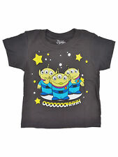 Toddler Boys Toy Story Aliens T-Shirt Charcoal Gray