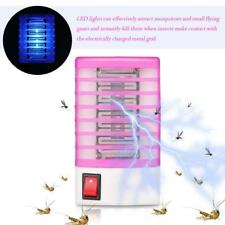 220V LED Socket Electric Mosquito Repellent Fly Bug Insect Killer Trap Insect