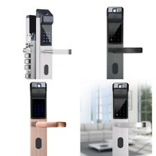 Fingerprint Keyless Touch Smart Digital Security Door Lock With IC Card, Key