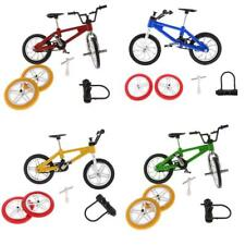Alloy Finger Bike BMX Mountain Bicycle Diecast Model Kids Toy Gifts w/ Accessory