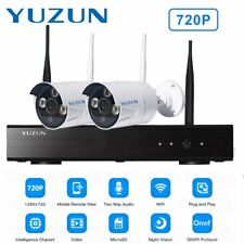 720p HD Wireless IP Camera Security Video Surveillance 2CH WIFI NVR System LOT X