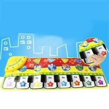 Musical Blanket Baby Kid Toy Piano Keyboard Blanket Touch Play Learn Singing Toy