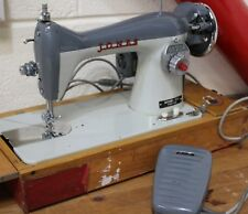 JONES Heavyweight Electric Sewing Machine Model 104 with Case - 250