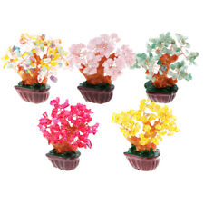MagiDeal Crystal Money Tree Festival Holiday Gift Bring Wealth Luck Decor