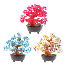 MagiDeal 7'' Crystal Money Tree Festival Holiday Gift Bring Wealth and Luck
