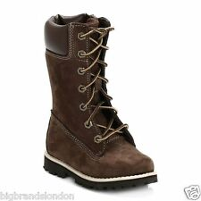 Timberland 83880  Premium Infant Youth Kids Toddler Brown  Leather Calf Boots