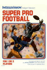 101994 Super Pro Football Intellivision Box Gaming Decor WALL PRINT POSTER UK