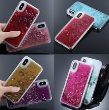 For iPhone X / XS / 10S - HARD CASE COVER Flowing Waterfall Liquid Sparkle Star