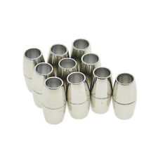 10x Barrel Magnetic Clasp Connector for Jewelry Making DIY Necklace Bracelet