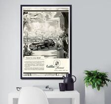 """Vintage 1941 Cadillac Ad POSTER! - Full Size 24"""" x 36"""" or smaller - Classic Cars"""