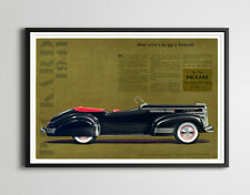 """1941 Packard Victoria Ad POSTER! - Up to 24"""" x 36"""" - Vintage Cars - High Quality"""