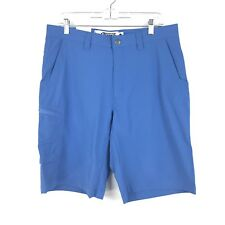 "Mountain Khakis Men's Cruiser Short Relaxed Fit in Rivera Blue 11"" Inseam NEW"