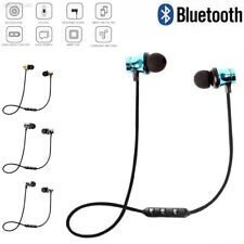 Bluetooth 4.2 Stereo Earphone/Headset Wireless Magnetic In-Ear Earbuds Headphone