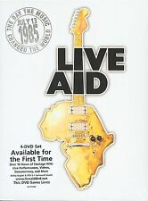 Live Aid - DVD 4 Disc Boxed Set - Release 2004 -Music Concert