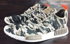ADIDAS ORIGINALS NMD_R1 CAMO BOOST SHOES G27915 NEW MENS BROWN GREEN SOLAR RED