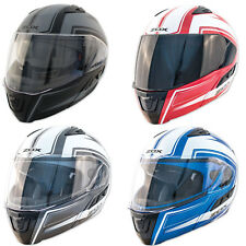 Zox Condor SVS Envoy Modular Helmet with built in sun visor DOT ECE Approved