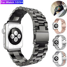 For Apple Watch iWatch 1/2/3/4 Stainless Band Watch Strap Bracelet 38/40/42/44mm
