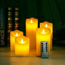 1PC Remote Control LED Electronic Flameless Candle Lights Simulation Flame