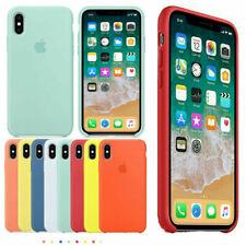 Original Silicone Back Case Protective Cover For iPhone XR XS Max 8 7 6 Plus Hot