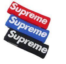 Supreme Streetwear Hypebeast Red Fleece Headband Blue New head band sport Hot