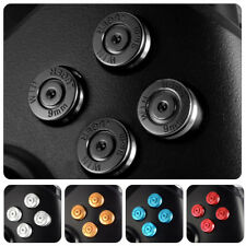 LX_ Replacement Metal Aluminum ABXY Buttons Kits for Xbox One Game Controller