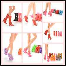 Multiple Choice Mix Shoes Boots for  Doll Girls Play House Gift SP