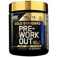 Optimum Nutrition Gold Standard Pre-Workout Sharp Focus, and Supports 30 serving