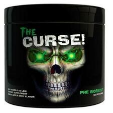 COBRA LABS The Curse Pre-Workout Powder for Insane Energy 50 servings