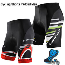 Mens Bike Shorts Bicycle Underwear 3D Silica Gel Padded Cycling Bottom  Tights