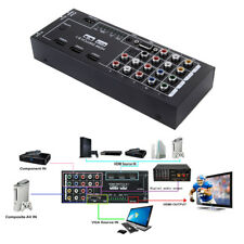 1080P HDTV home theater HDMI Audio 8 Inputs to 1 HDMI Output Coaxial 5.1