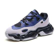 Mens Casual Fashion Running Walking Sports Shoes Platform Athletic Sneakers