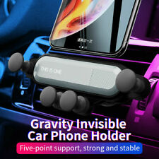 Car Air Auto Grip Vent Mount Gravity Holder Stand For iPhone Samsung Cell Phone