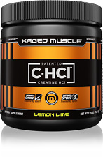 Kaged Muscle C-HCl Patented Creatine Hydrochloride to Build Muscle 75 Servings