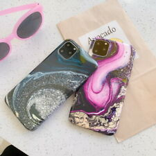 For iPhone 11 Pro Max Xs XR X 7 8 6 Plus Marble Pattern Soft Silicone Case Cover