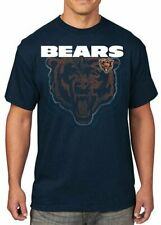 Chicago Bears NFL Mens Majestic Empty Backfield Shirt Navy Size 3XL