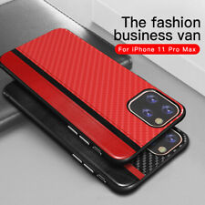 For Apple iPhone 11 Pro Max 7 8 Xs XR Shockproof Leather Hybrid Soft Case Cover