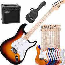 "39"" KALOS Full Size ELECTRIC GUITAR PACK w/ 15W AMP"