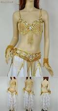 830 Fringe Belly Dance Costume Set of Bra & Belt