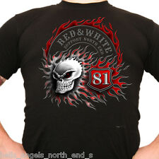 HELLS ANGELS SUPPORT BIG RED MACHINE T-SHIRT 666 BRM 81