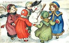 Ring Around The Snowman Quilt Block Multi Sizes FrEE ShiPPinG WoRld WiDE