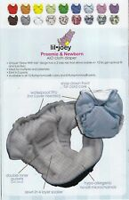 Rump A Rooz LIL JOEY Diaper Preemie Newborn 4-12LB AIO All In One 2pack