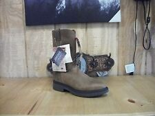 "Mens Justin 10"" aged bark pull on work boot style #4760"