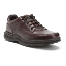 Rockport World Tour Casual Lace Up Shoe MWT Brown Wide
